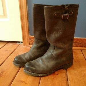 Frye Arkansas Moto boots